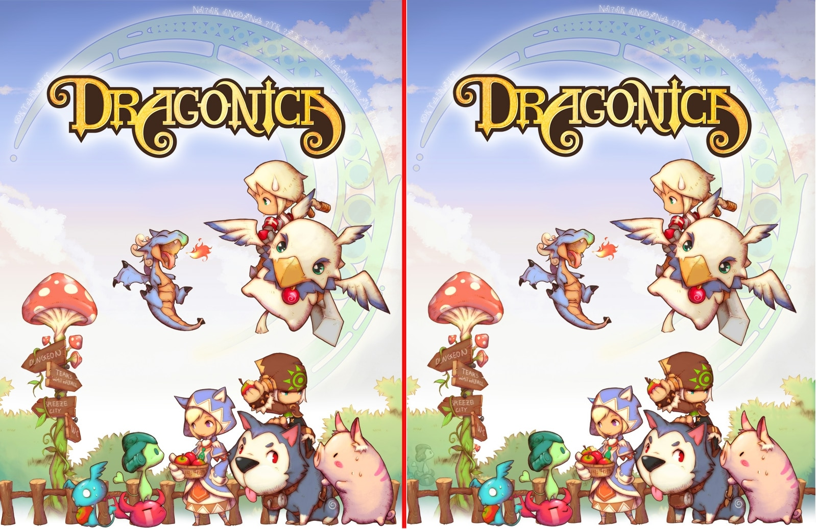 Spot all 21 differences The